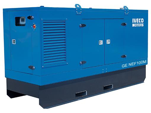 Электростанция Iveco GS NEF100MA в кожухе