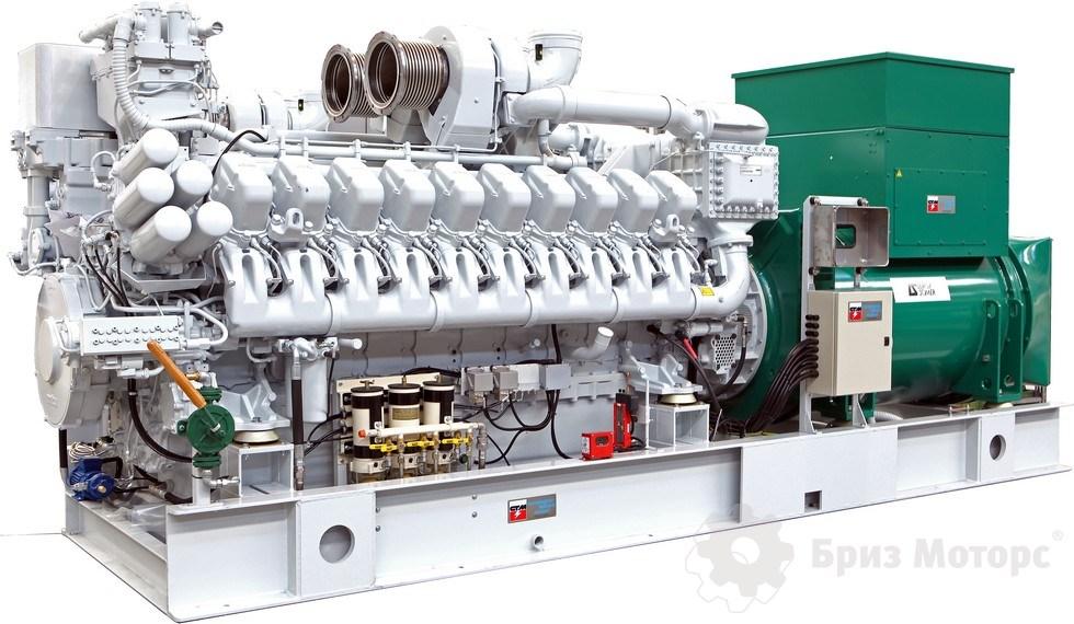 Дизельная электростанция 2500 кВт 6,3 кВ