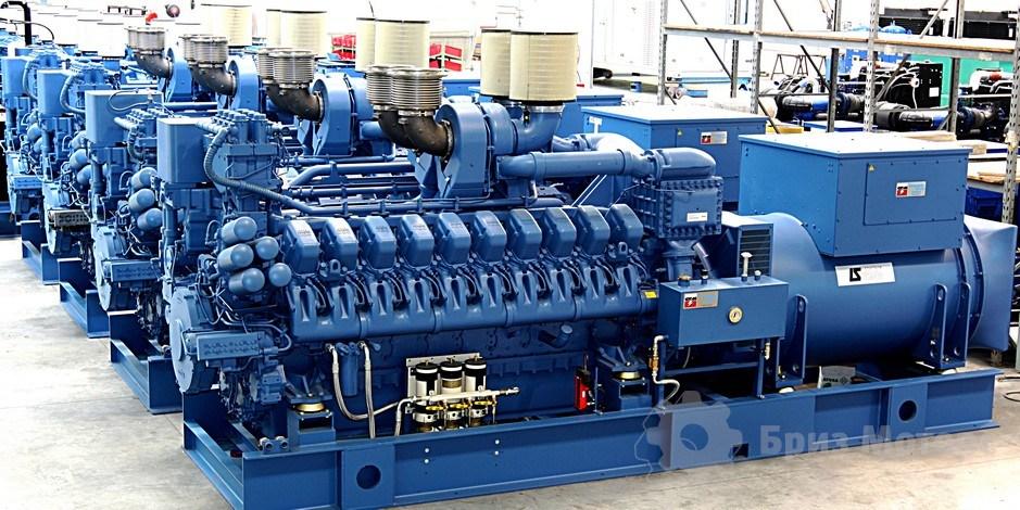 дизельная электростанция 2000 кВт