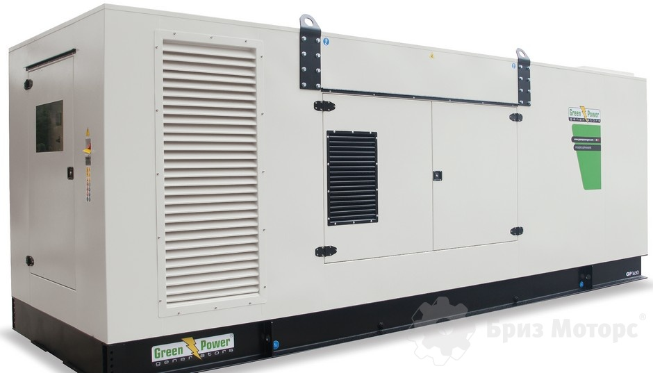 Green Power GP1380A/P (1 002 кВт) - дизельная электростанция в кожухе