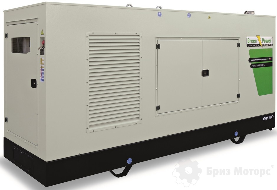 Green Power GP280A/V (200 кВт) - дизельная электростанция в кожухе