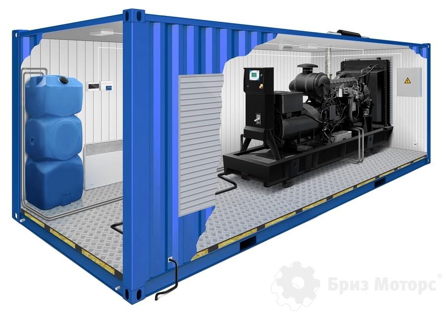 Бензиновый генератор в контейнере SDMO контейнере