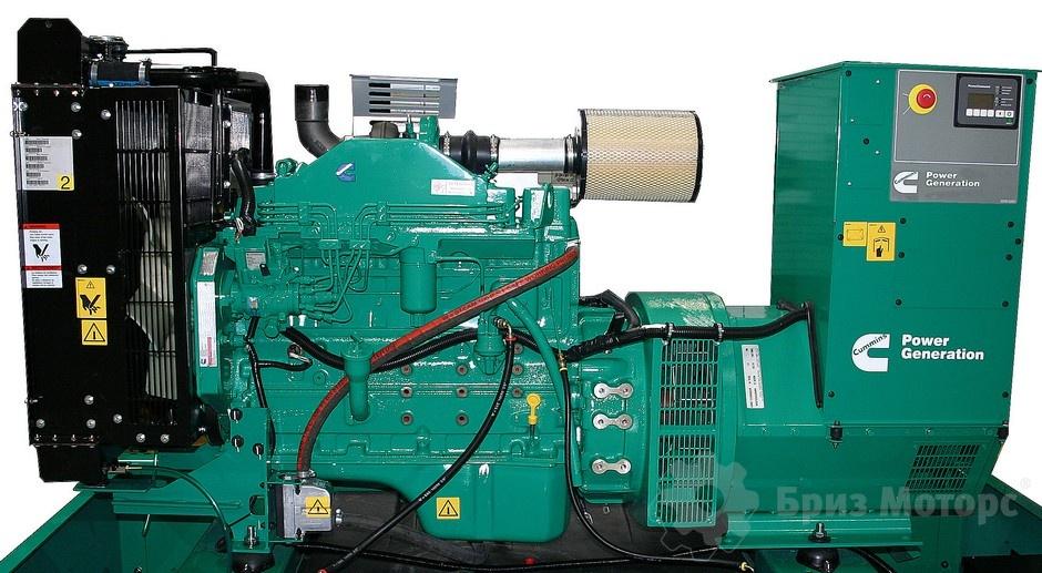 Cummins C110D5 80 кВт за 44 312 € - купить в Бриз Моторс (Дизельная электростанция)